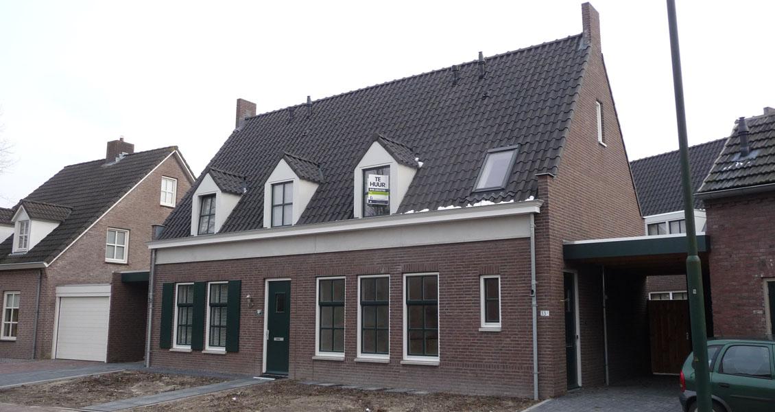 Huis nieuwbouw