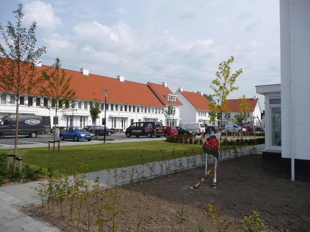 Nieuwbouw woonwijk