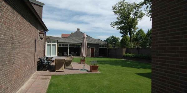 Villa achterkant